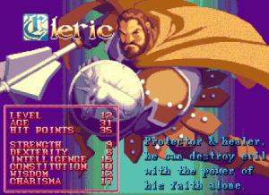 D&D Arcade Cleric