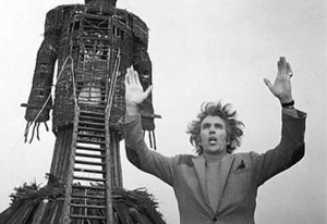 Christopher Lee in The Wicker Man