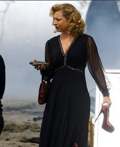 Alex Kingston as River Song in Doctor Who